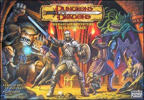 RESEÑA RECUPERADA Dungeons & Dragons el juego de tablero de Parker